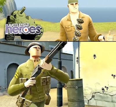 Battlefield hero game trailor