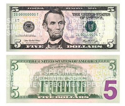 5$ Bill 2008