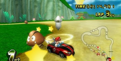 Mario Kart Wii Japanese demo