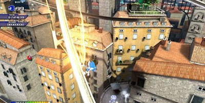Hands on with SEGA-sonic-unleashed-gameplay