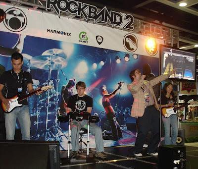 Rock band 2 singing snapshot