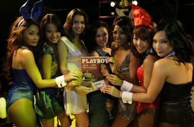 Playboy Manager Game Snapshot with Sexy Models