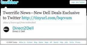 Dell Twitter Snapshot