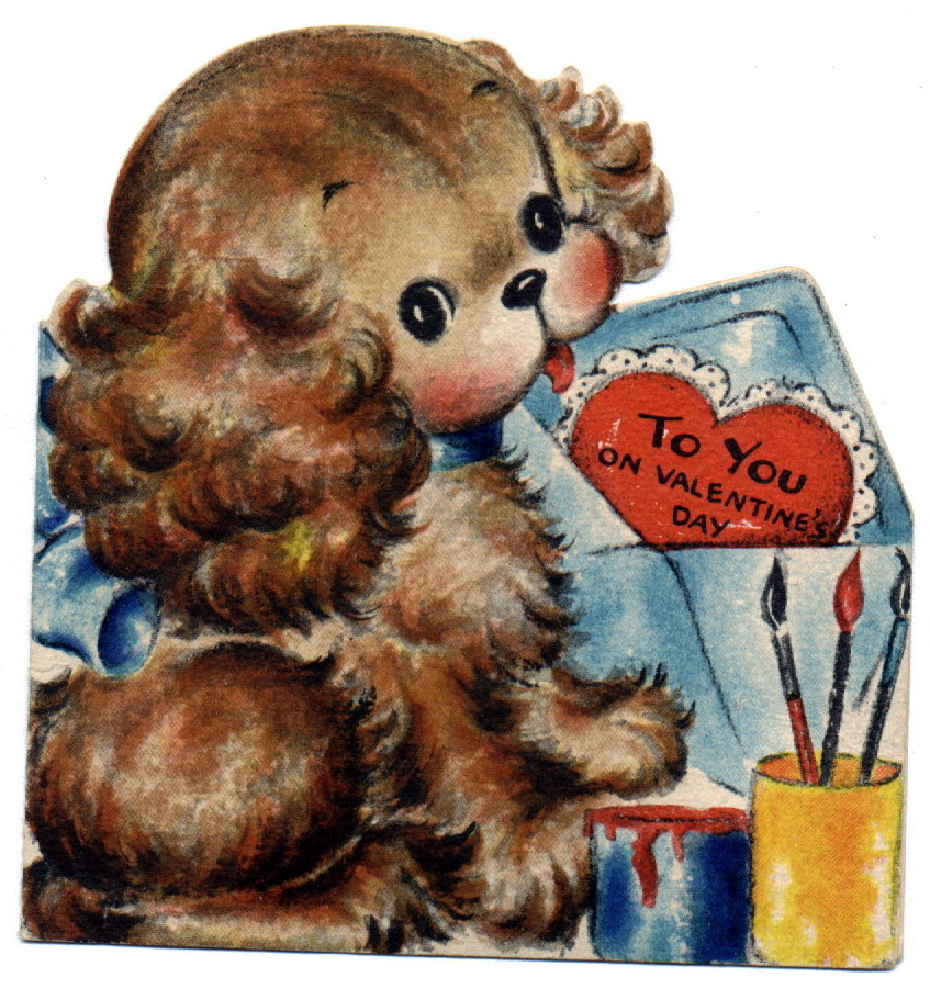 Nanalulu's Musings: Vintage Valentine's Day Cards