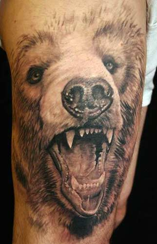 Grizzly Bear Tattoojpg
