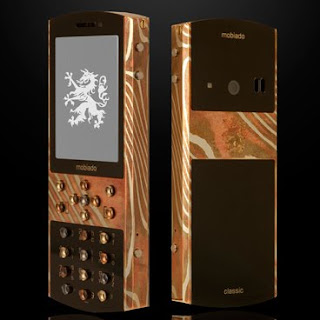 Mokume Gane tlphone de luxe