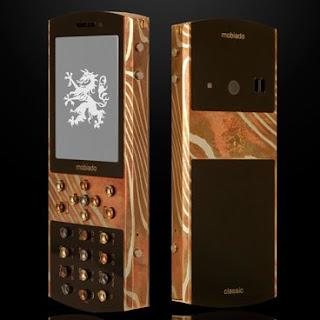 Mokume Gane téléphone de luxe