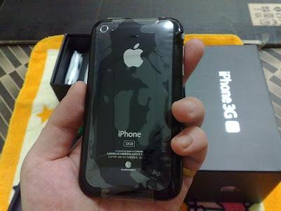 阿布洛格 iPhone 3GS 手機背面
