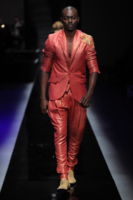 AFRICA FASHION WEEK 2010 | DAVID TLALE