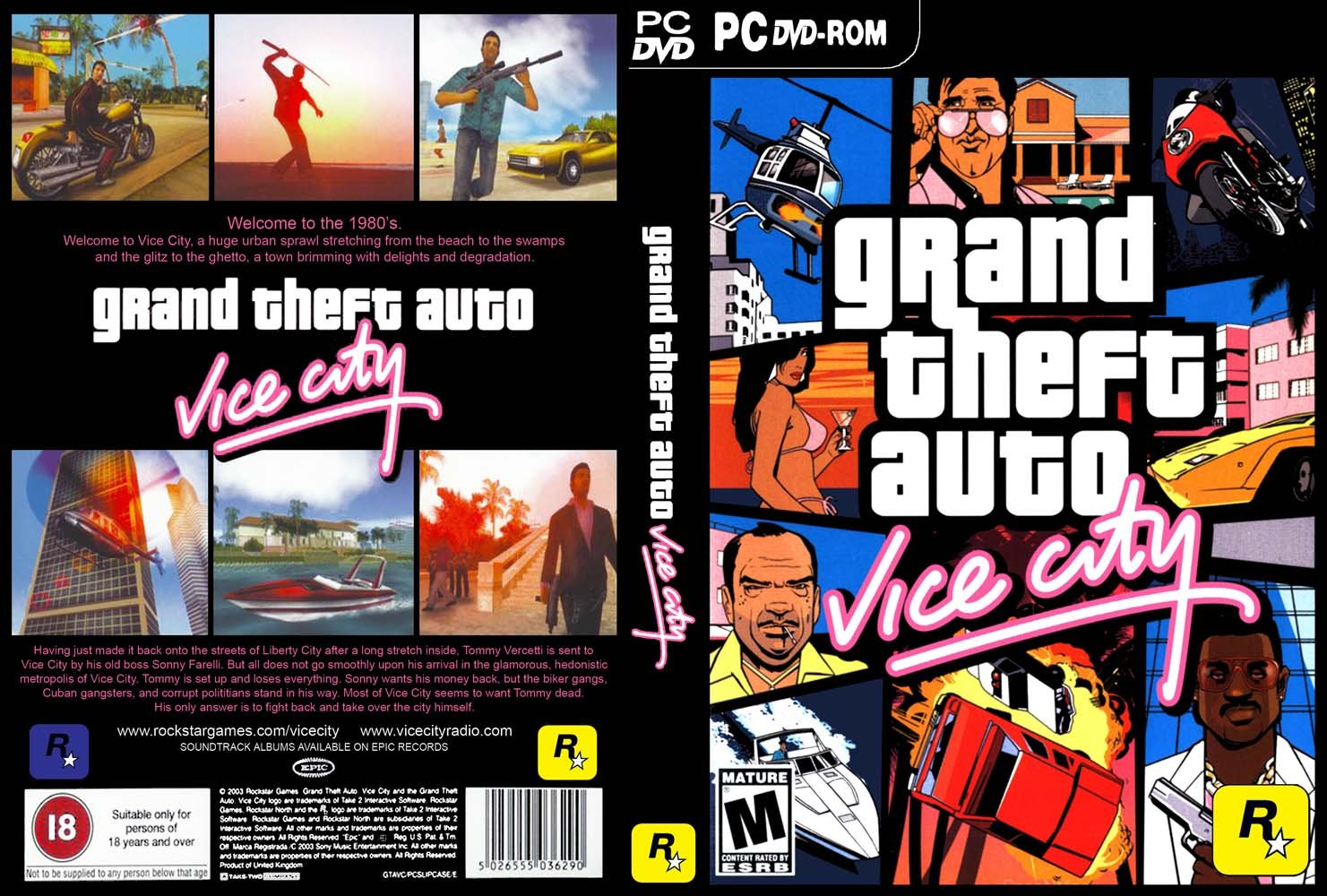 GTA  Vice City  Full ISO   Espa  Ol    Trucos    Mapa   BS   14 6 13
