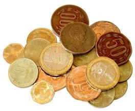 Las Nuevas Monedas en Chile