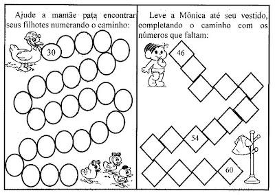Atividades 1º Ano Matemática Ensinando Com Carinho