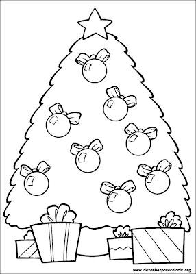 natal 151 Para colorir Natal para crianças