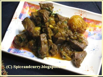 Spice and curry maeter jhal mutton liverkaleji spicy fry mutton liver spicy fry ingredients ccuart Image collections