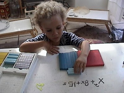 Algebra, base ten blocks, Base ten Manipulatives,