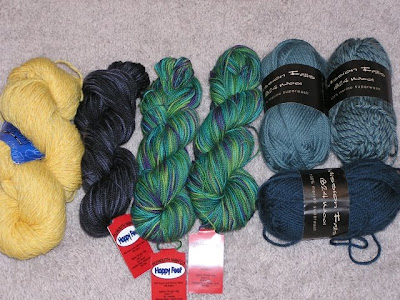 picture of skeins of yarn