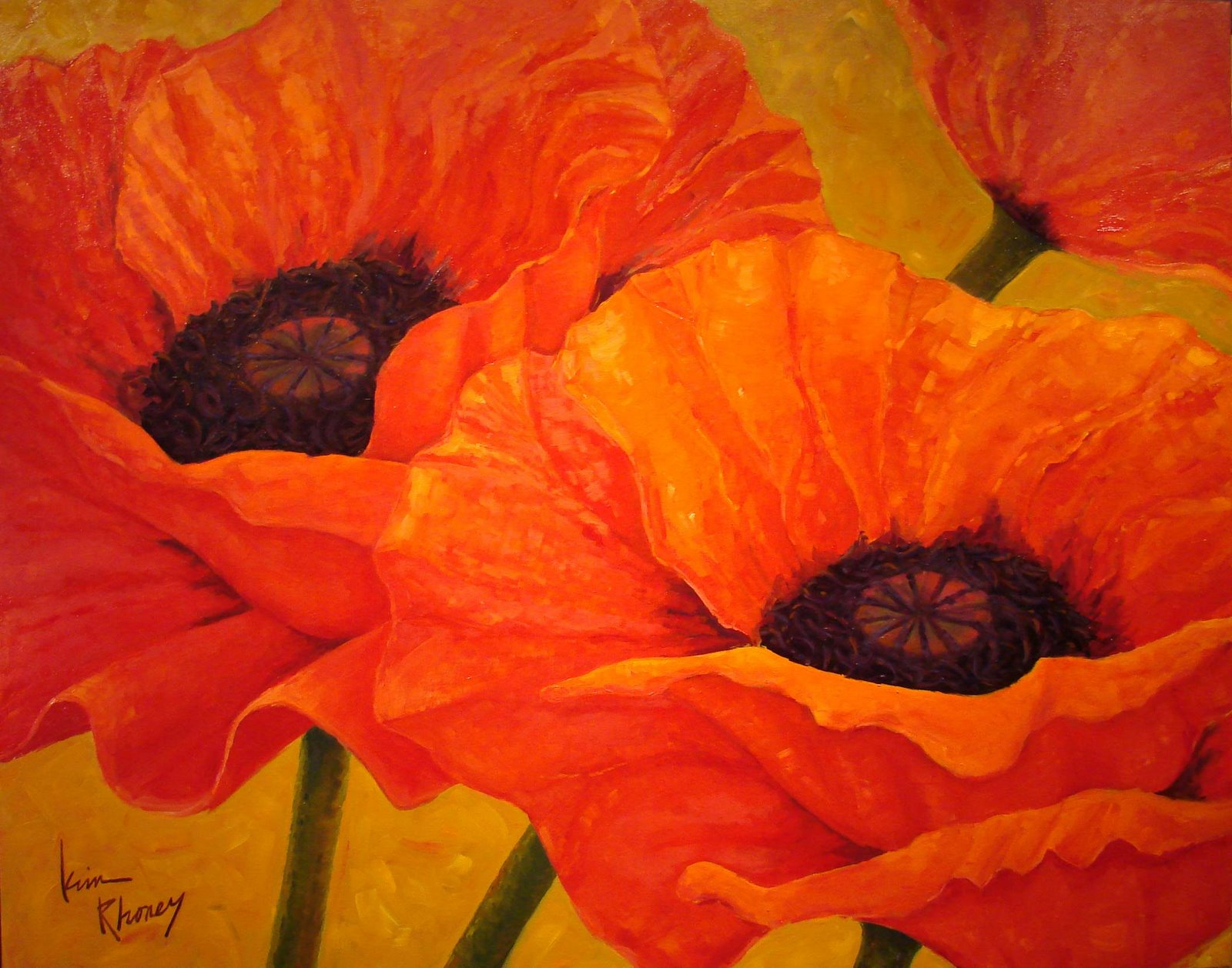 How to paint poppies on ehow autos post - How to paint poppy flowers ...