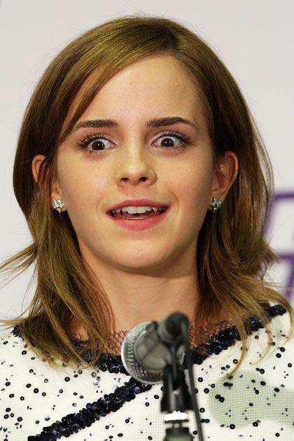 Emma Watson Funny. Emma Watson is news.