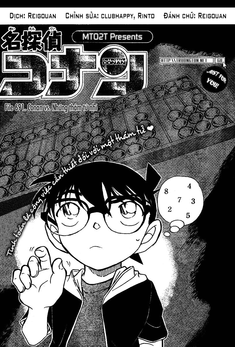 Detective Conan - Thám Tử Lừng Danh Conan chap 691 page 1 - IZTruyenTranh.com