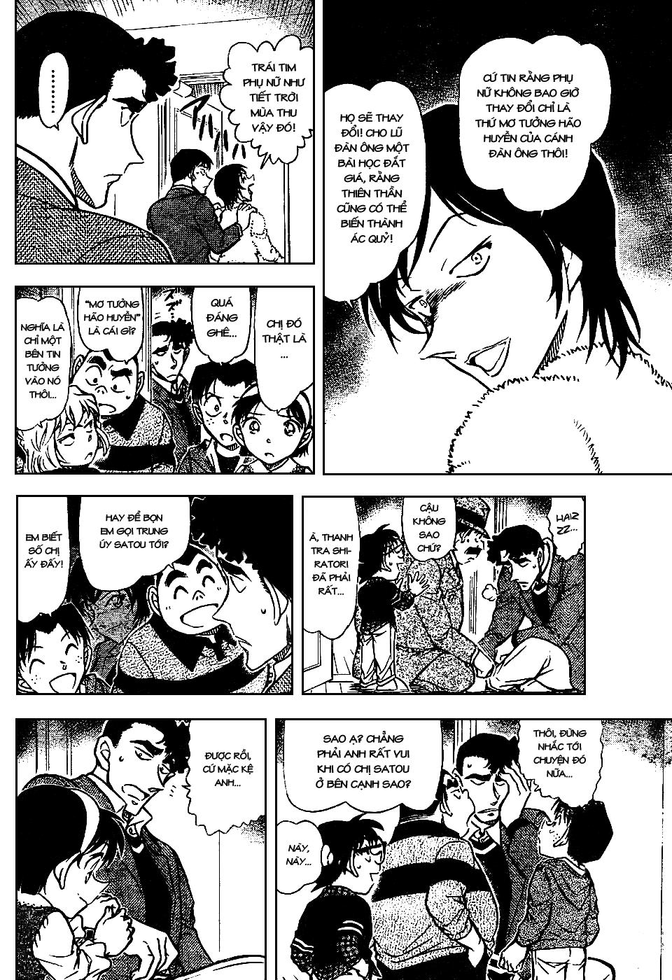 Detective Conan - Thám Tử Lừng Danh Conan chap 689 page 14 - IZTruyenTranh.com