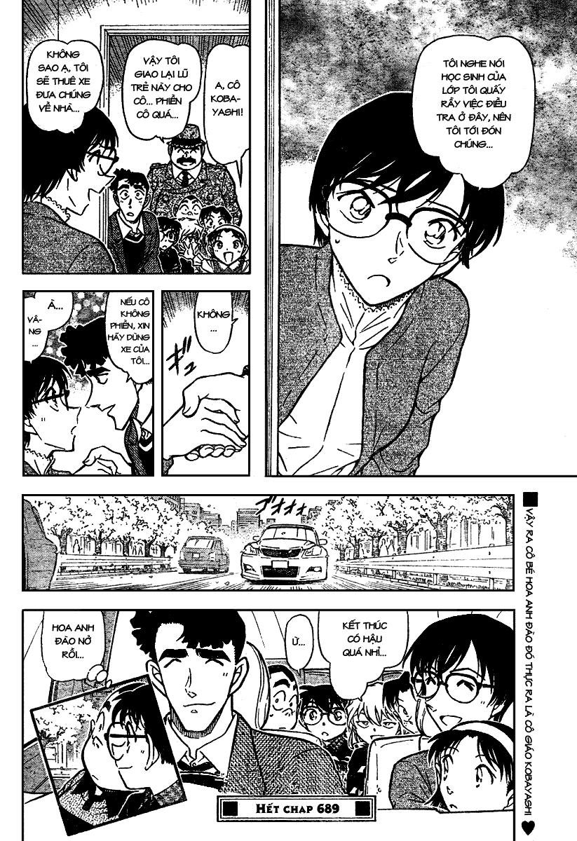 Detective Conan - Thám Tử Lừng Danh Conan chap 689 page 16 - IZTruyenTranh.com