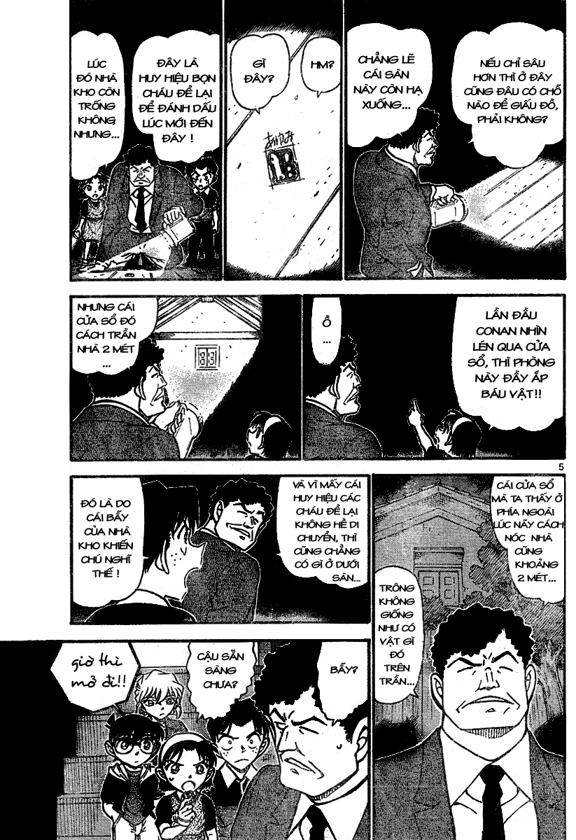 Detective Conan - Thám Tử Lừng Danh Conan chap 692 page 5 - IZTruyenTranh.com