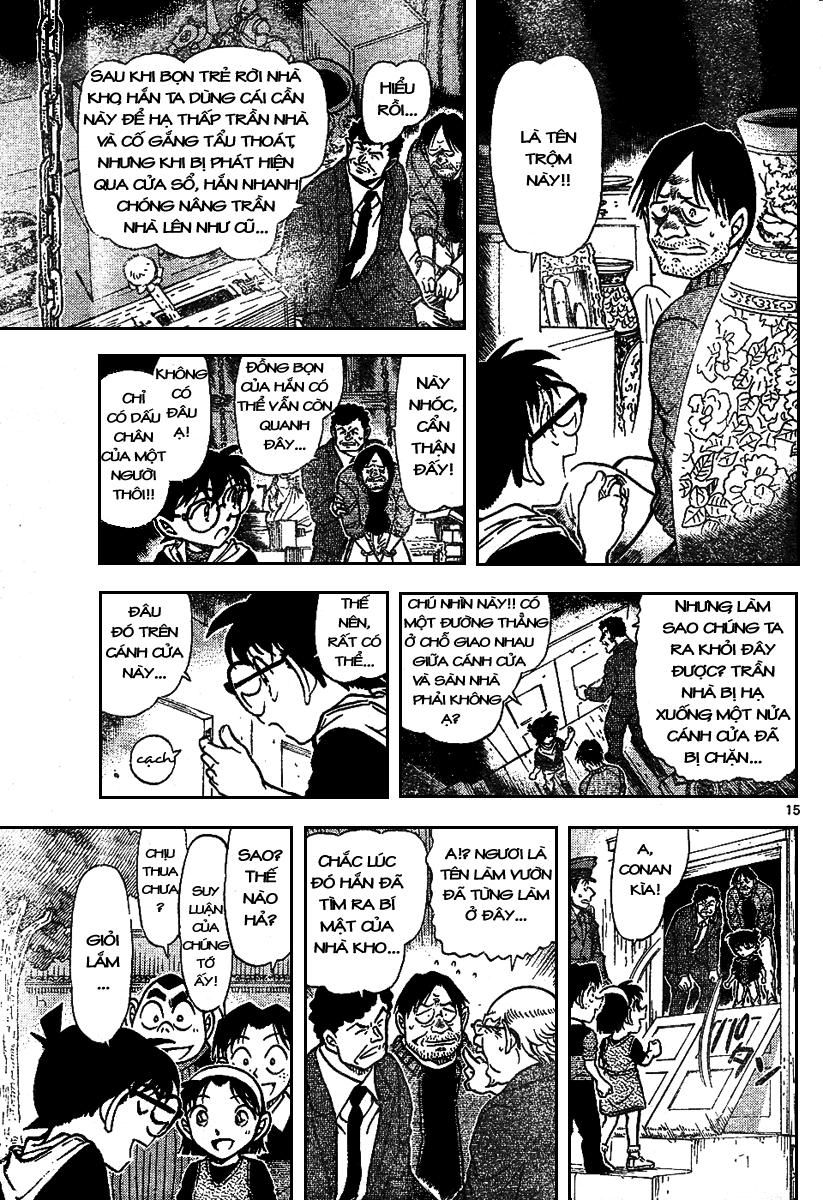 Detective Conan - Thám Tử Lừng Danh Conan chap 692 page 15 - IZTruyenTranh.com