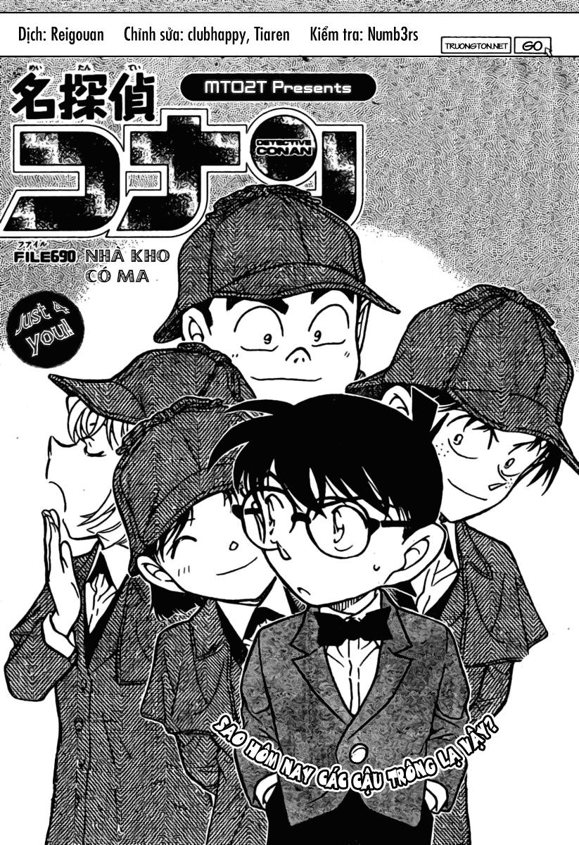 Detective Conan - Thám Tử Lừng Danh Conan chap 690 page 1 - IZTruyenTranh.com