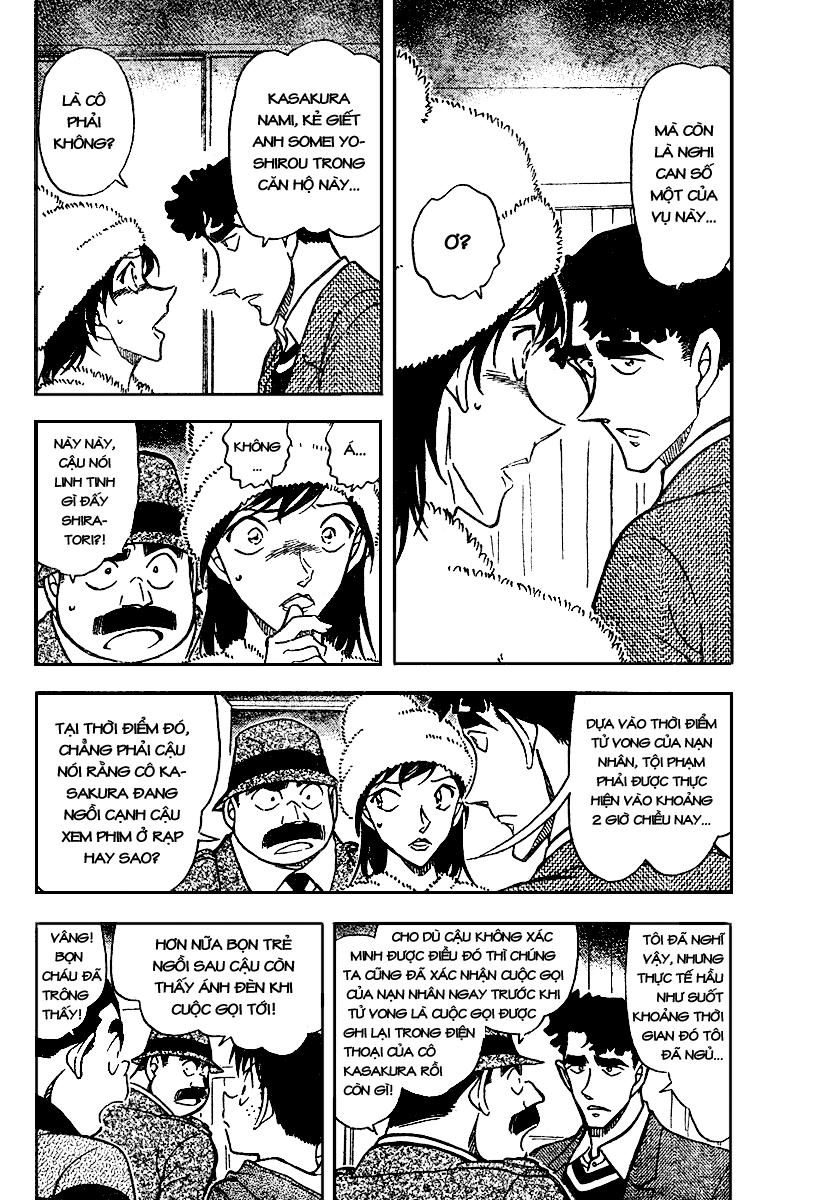 Detective Conan - Thám Tử Lừng Danh Conan chap 689 page 4 - IZTruyenTranh.com