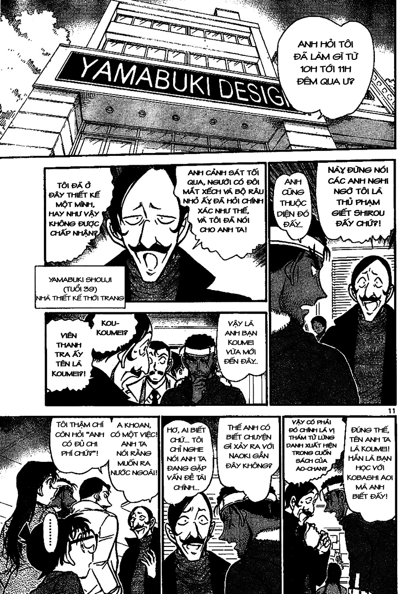 Detective Conan - Thám Tử Lừng Danh Conan chap 684 page 11 - IZTruyenTranh.com