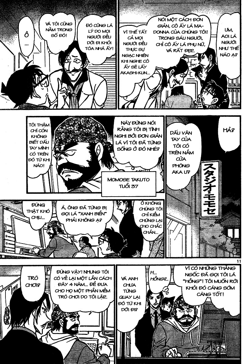 Detective Conan - Thám Tử Lừng Danh Conan chap 683 page 11 - IZTruyenTranh.com
