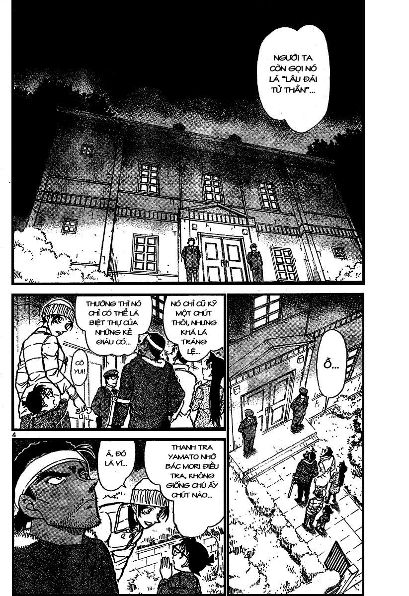 Detective Conan - Thám Tử Lừng Danh Conan chap 682 page 4 - IZTruyenTranh.com