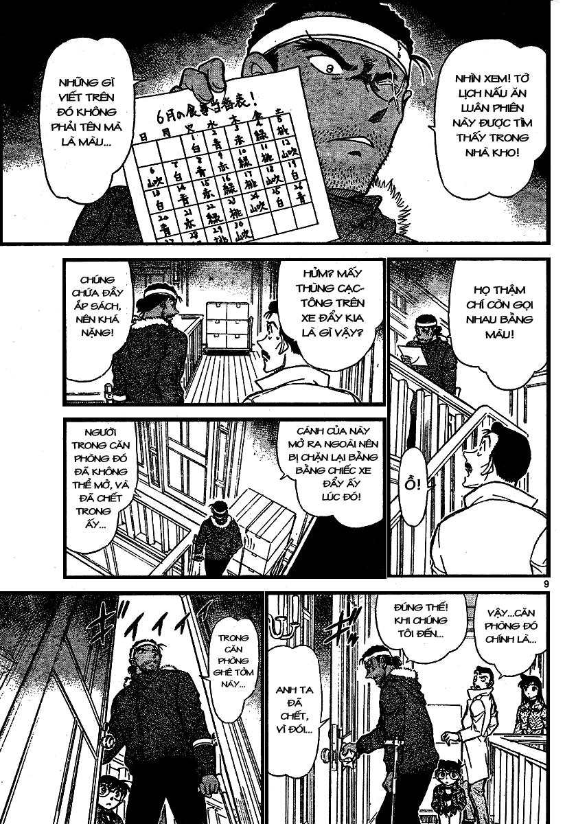 Detective Conan - Thám Tử Lừng Danh Conan chap 682 page 9 - IZTruyenTranh.com