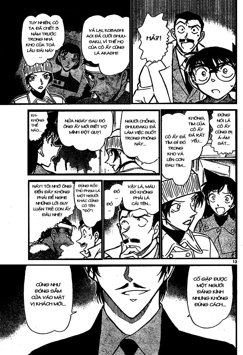 Detective Conan - Thám Tử Lừng Danh Conan chap 682 page 13 - IZTruyenTranh.com