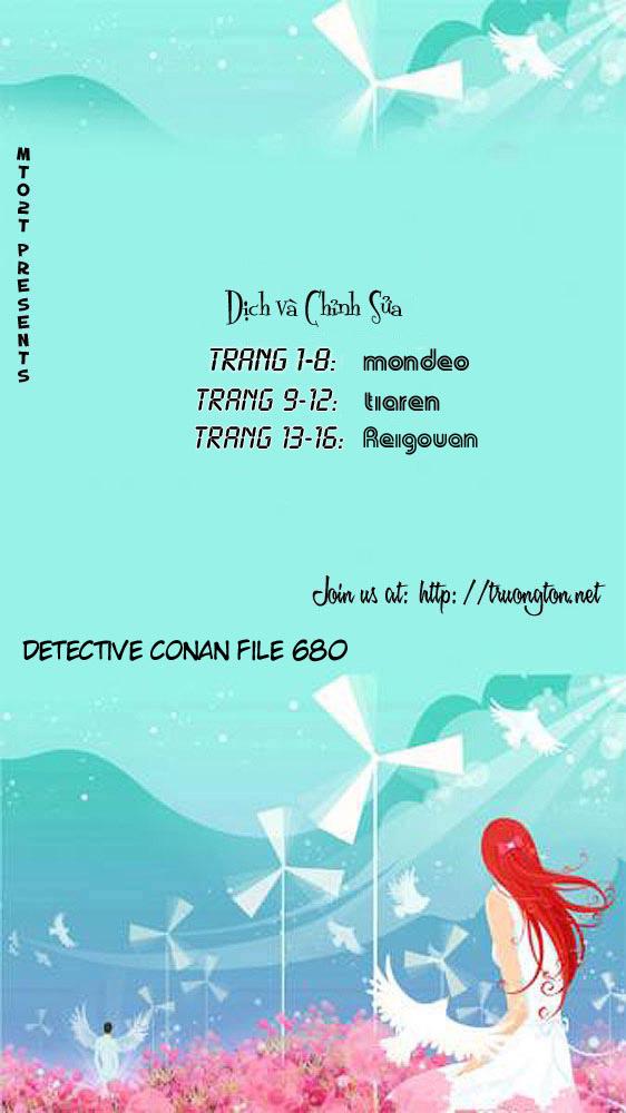 Detective Conan - Thám Tử Lừng Danh Conan chap 680 page 17 - IZTruyenTranh.com