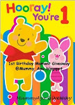 Mummy Ayu 1st Birthday Moment Giveaway
