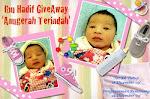 Ibu Hadif's Giveaway ~ Anugerah Terindah