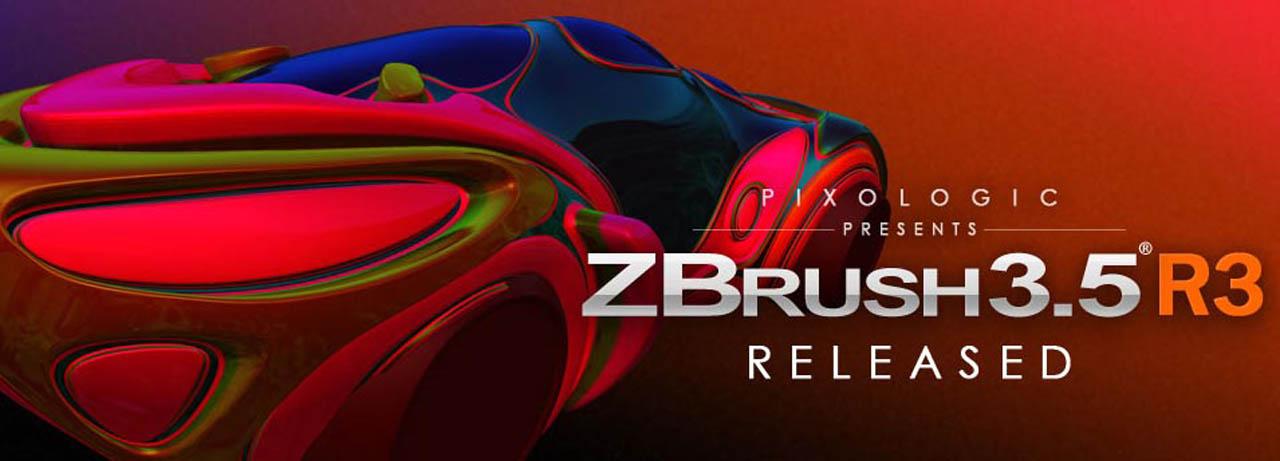 Отличительной особенностью ZBrush 3.5 R2 является имитация процесса