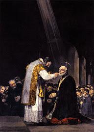 Última Comunión de S. José de Calasanz