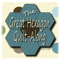 The Great Hexagon Quilt-along I