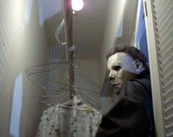 Iconic or memorable movie stills Halloween_closet
