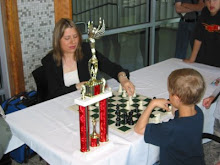 Kayden with Grandmaster Susan Polgar