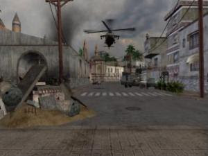 Inside 'virtual' Iraq. (Credit: Image courtesy of University of Reading)