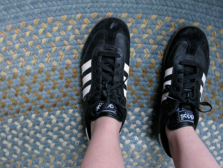 adidas samba shoes. had Adidas Samba shoes,