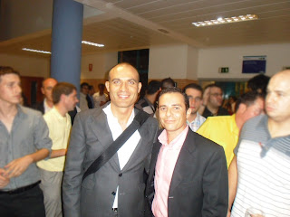Foto de Bernardo Hernández conoce a José Luis Suárez de Corex