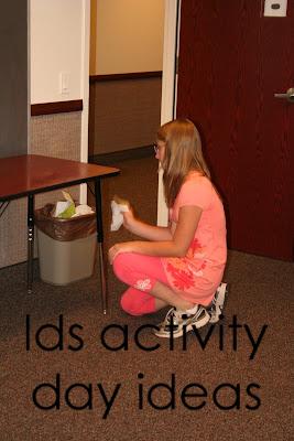 Lds activity day ideas activity repeat for Idea door activity days