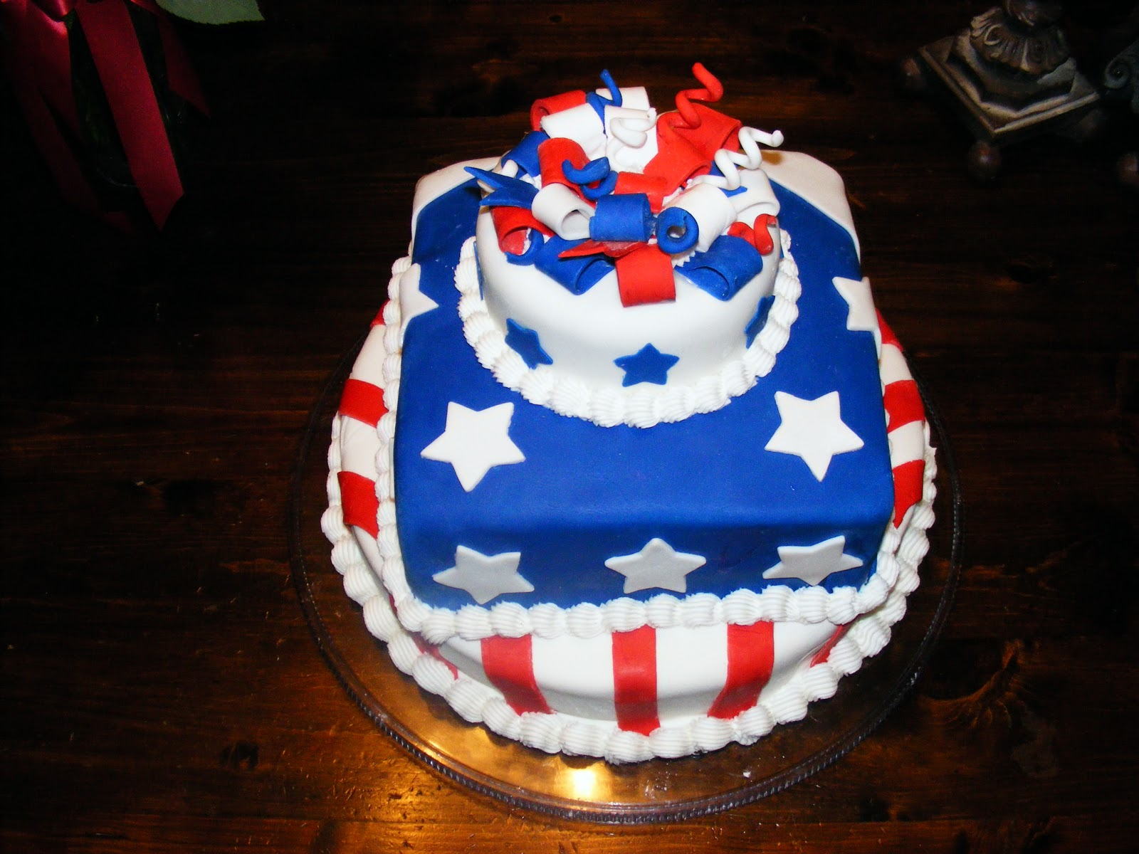 PattiCakes!: 4th of July Cake