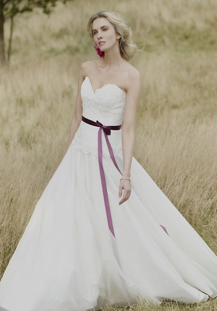 Accessorize your wedding with lush velvet kate whelan for Velvet and lace wedding dresses