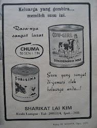 Iklan susu 1971