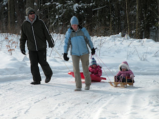 Wild for winter in Ontario. Photograph by Janie Robinson, Travel Writer